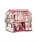 Кукольный дом 57х27х35 с гаражом В013, фото 4