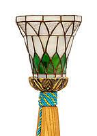 Лампа настільна з деревини ясеня декоративна