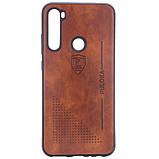 Кожаный чехол-накладка PULOKA Desi для Xiaomi Redmi Note 8, фото 2