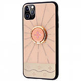 "TPU+Glass чехол TYBOMB Shinig Line для Apple iPhone 11 Pro (5.8""), фото 2"
