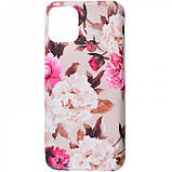 "TPU чехол Flowers Series для Apple iPhone 11 Pro (5.8""), фото 3"