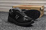 Кросівки New Balance 991 Triple Black, фото 2