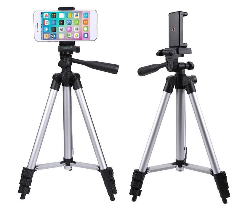 Телескопический штатив для смартфонов   Тренога   Трипод Tefeng 3110