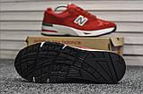 Кросівки New Balance 991 Red, фото 3