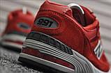 Кросівки New Balance 991 Red, фото 4
