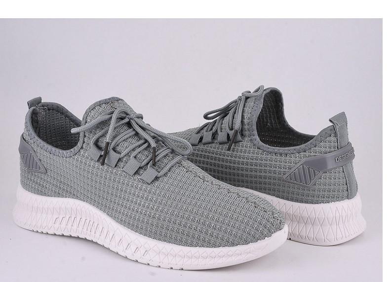 Кроссовки мужские  Violeta-45-54-grey