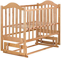 Кровать Babyroom Дина D204 Коричневый 624548, КОД: 1704865