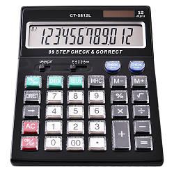 Калькулятор Adenki 5812 двойное питание 30-1010, КОД: 1749693