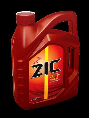 Купить Трансмиссионное масло ZIC ATF MULTI VEHICLE 4л
