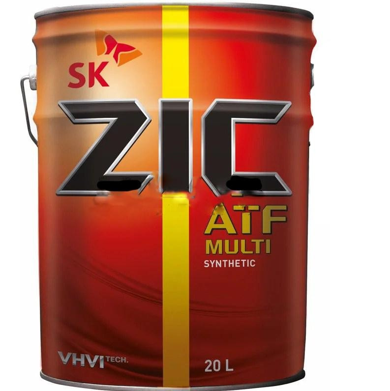 Купить Трансмиссионное масло ZIC ATF MULTI VEHICLE 20л