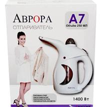 Ручний відпарювач для одягу Аврора A7 750w White, фото 2