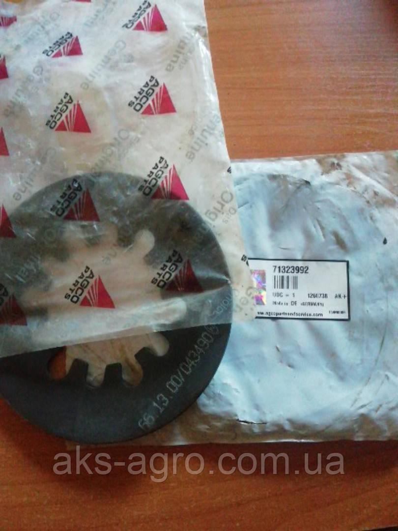 71323992  AGCO Диск пружинної муфти шнека жатки 7000/8000