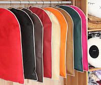 Прочные чехлы для одежды с антигрибковым волокном, 60х80 см