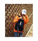 Рюкзак большой BE YOUR STYLE мужской женский чоловічий жіночий школьный портфель черный, фото 6