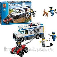 Конструктор Bela Urban 10418 Автомобіль для перевезення ув'язнених
