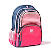 Рюкзак школьный YES S-30 Juno Girls style Розово-голубой (558444)