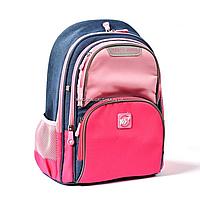 Рюкзак школьный YES S-30 Juno Girls style Розово-голубой (558444), фото 1