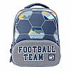Рюкзак школьный YES S-30 JUNO ULTRA Football серый (558157)