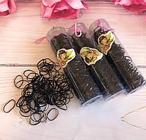 Резинки Африканки черные в тубе