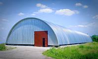 Строим бескаркасные ангары по всей Украине