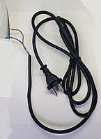 Шнур питания 2х0.75 мм2 L2000 мм болгарки Элпром ЭМШУ 850-125 оригинал