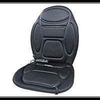 Массажная вибрационная накидка на кресло с подогревом MASSAGE CUSHION EL-1134 c пультом управления 5 программ, фото 1