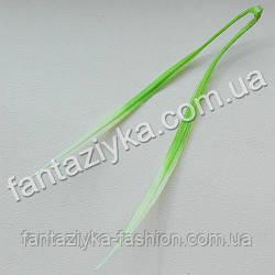 Пластиковая травка осока двойная 15см, салатовая
