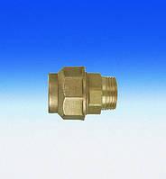 Трубное прямое соединение для полиэтиленовых труб DN25х3/4'' (штуцер-цанга)