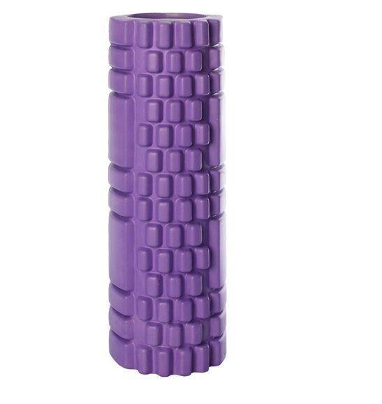 Массажер рулон для йоги 45*14см (MS 1843-2_violet) цвет фиолетовый