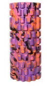 Массажер рулон для йоги 32*14см (MS 0857-1_violet) цвет фиолетовый