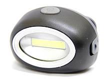 Фонарик налобный светодиодный POLICE BL-2089 COB Черный (005219)