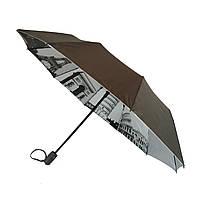 Зонтик полуавтомат Bellissimo Коричневый (18315-11)