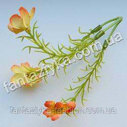 Добавка букетная 3-ная с оранжевыми цветками