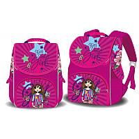 Ранец (рюкзак) - короб ортопедический  для девочки - Стильная Cool girl, Space 988772