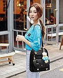 Рюкзак-сумка світло-сірий, фото 5