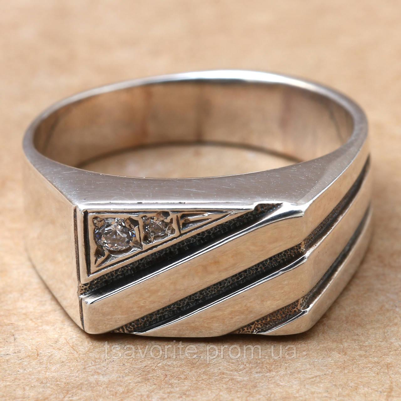 Мужское серебряное кольцо 2110936