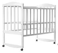 Кровать Babyroom Зайчонок Z101 Белый 30002, КОД: 1704859
