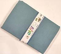 Синие Покрывало Пике Хлопковое на двухспальную кровать 200*240 см, Турция