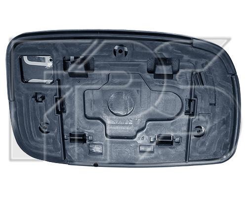 Вкладиш дзеркала правого Toyota Yaris 99-06 праве (квадратний кріплення) (FPS) FP 8109 M14