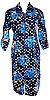 Цветной велюровый женский халат на молнии 54 размер, фото 4