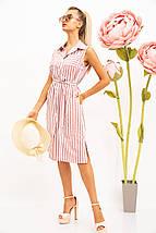 Платье-рубашка жен 102R067-1 цвет Пудрово-белый XXL, фото 3