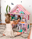 """Кукольный домик для Барби NestWood """"СТАНДАРТ"""" 5 комнат (101см), без мебели, фото 3"""