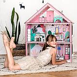 """Кукольный домик для Барби NestWood """"СТАНДАРТ"""" 5 комнат (101см), без мебели, фото 8"""