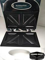 Гриль контактный Rainberg RB-5405 | 750 Вт | Электрогриль Раинберг | Сендвичница | Бутербродница, фото 3