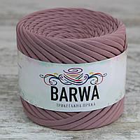 Трикотажная пряжа BARWA standart 7-9 мм цвет Пыльная роза