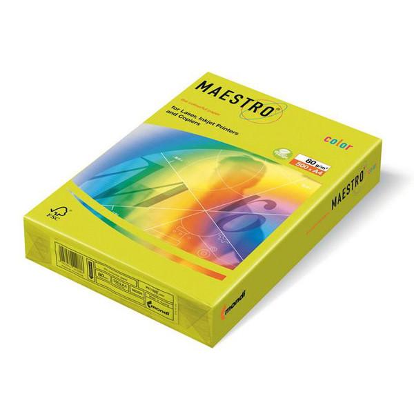 Цветная офисная бумага Maestro NEOGN  Neon Green А4 80г/м 500л