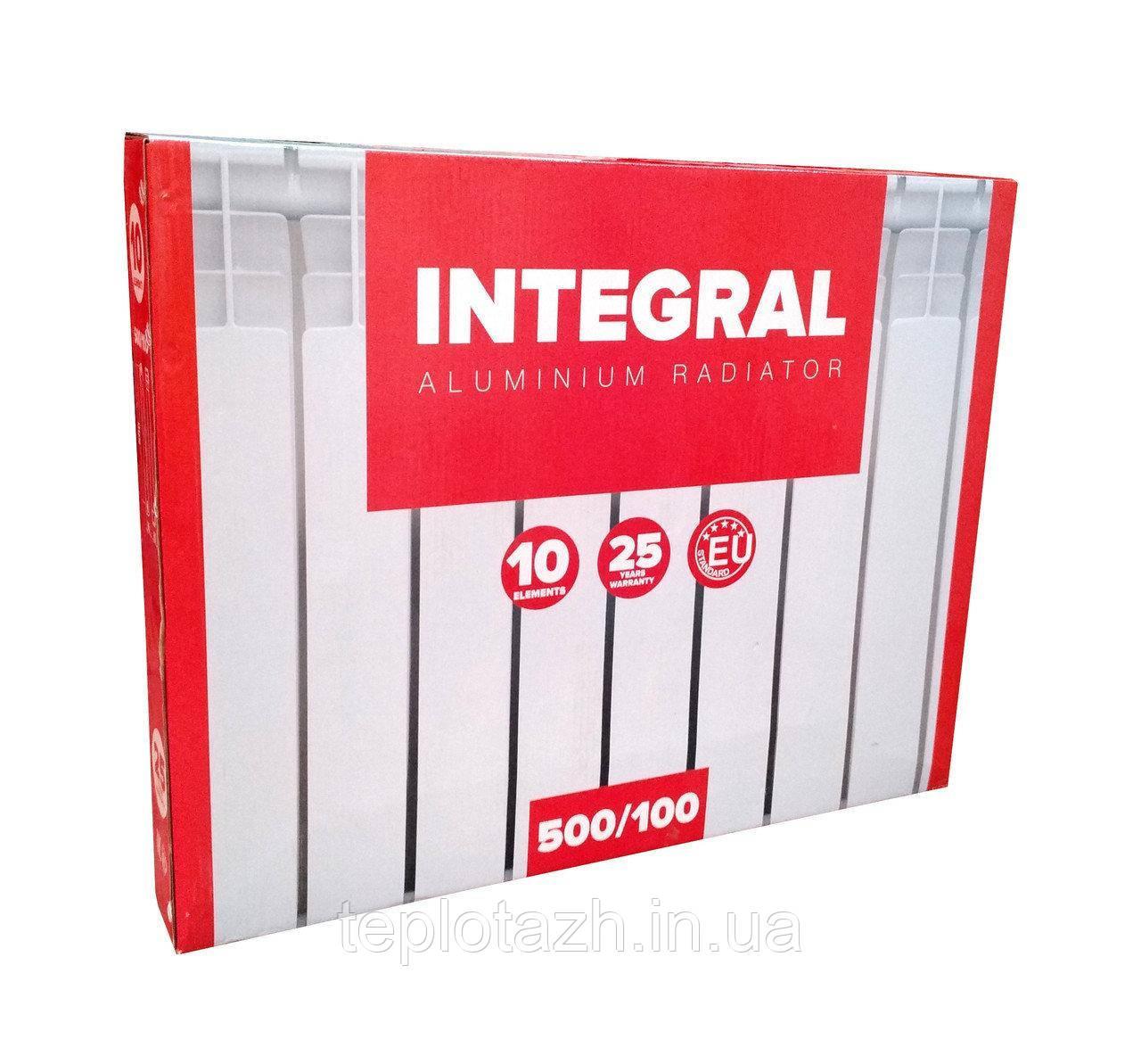 Алюминиевый радиатор Integral 500/80, секционный | ТеплоТаж