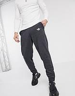 Мужские спортивные штаны Adidas (Адидас) Серые летние