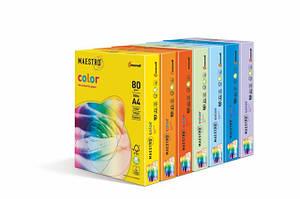 Бумага цветная A4 Maestro Color плотность 160г/м2