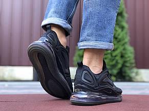 Мужские кроссовки Nike Air Max 720,черные,текстиль, фото 2